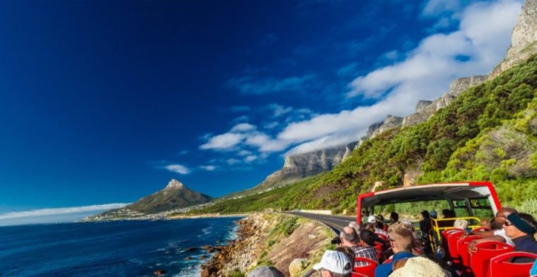 Hop on a Red City Sightseeing Bus & explore Cape Town with your family